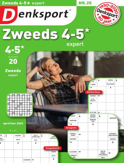 Denksport Zweeds 4-5* April 16, 2020 00:00