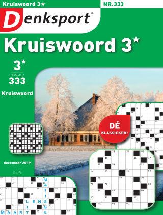 Denksport Kruiswoord 3* 333