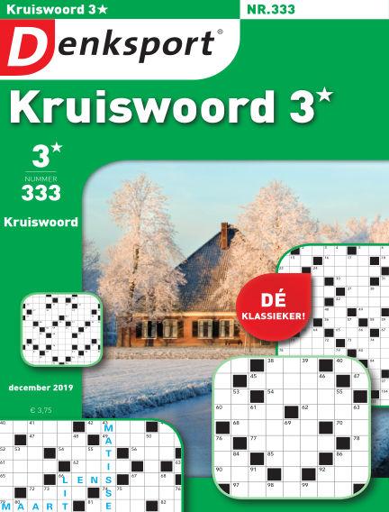 Denksport Kruiswoord 3* December 20, 2019 00:00