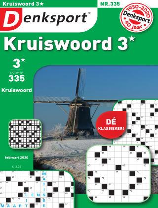 Denksport Kruiswoord 3* 335