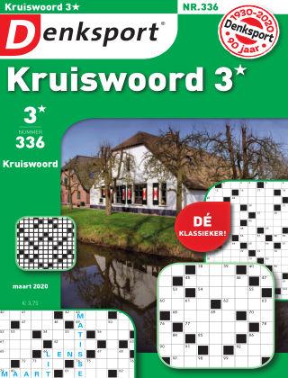 Denksport Kruiswoord 3* 336