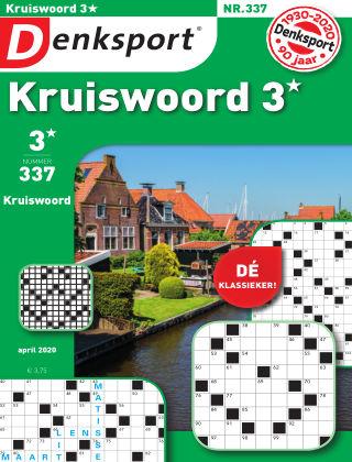 Denksport Kruiswoord 3* 337