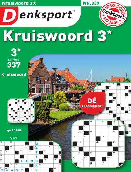 Denksport Kruiswoord 3* March 26, 2020 00:00