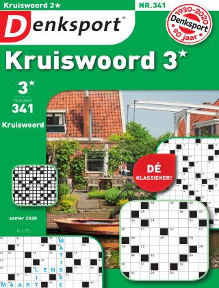 Denksport Kruiswoord 3* 341