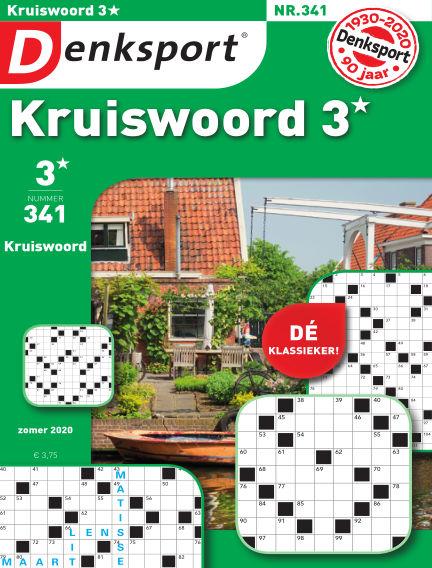 Denksport Kruiswoord 3* July 16, 2020 00:00