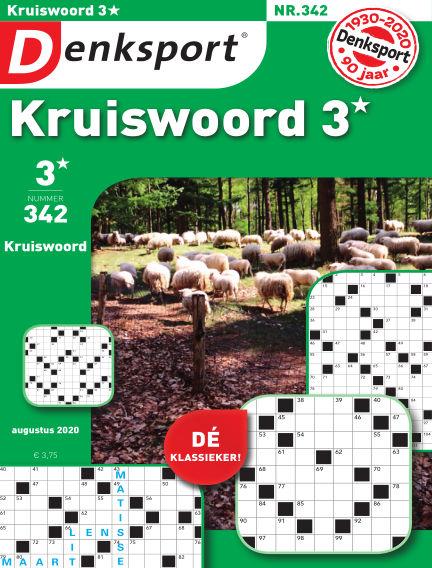 Denksport Kruiswoord 3* August 13, 2020 00:00