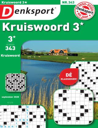 Denksport Kruiswoord 3* 343