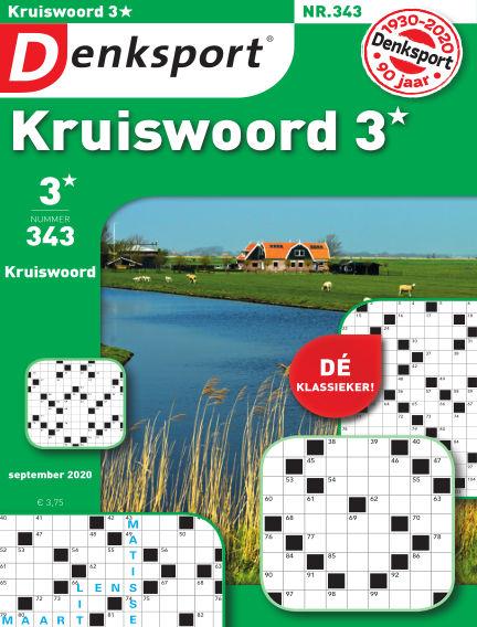 Denksport Kruiswoord 3* September 10, 2020 00:00