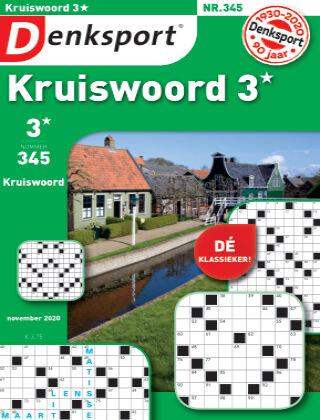 Denksport Kruiswoord 3* 345