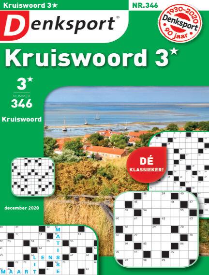 Denksport Kruiswoord 3* December 03, 2020 00:00