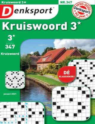 Denksport Kruiswoord 3* 347