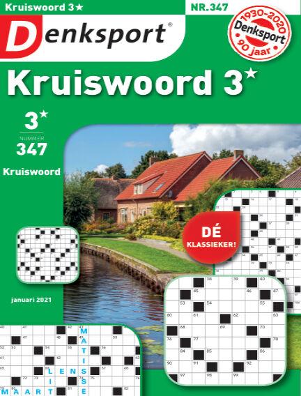 Denksport Kruiswoord 3* December 31, 2020 00:00