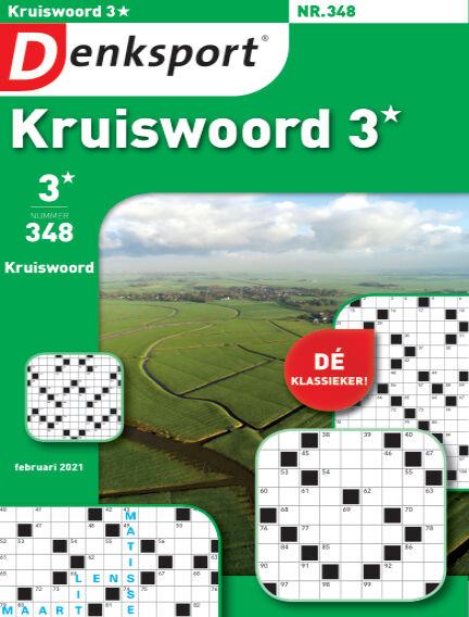 Denksport Kruiswoord 3* January 28, 2021 00:00