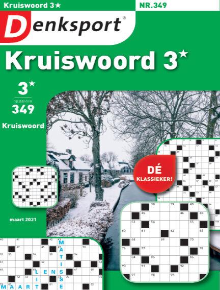 Denksport Kruiswoord 3* February 25, 2021 00:00