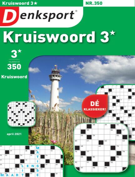 Denksport Kruiswoord 3* March 25, 2021 00:00