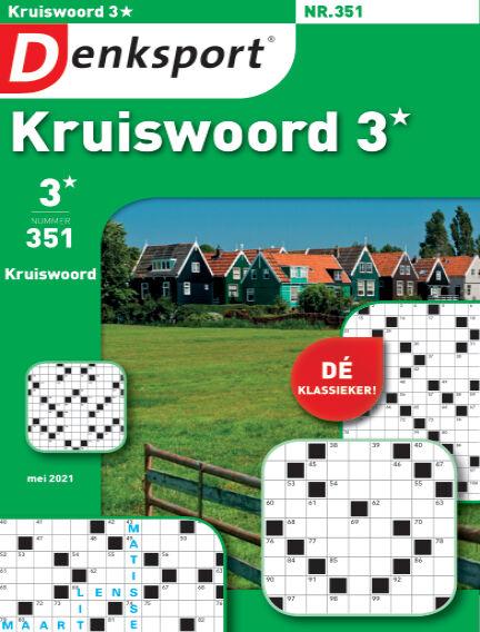 Denksport Kruiswoord 3* April 22, 2021 00:00