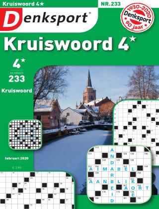 Denksport Kruiswoord 4* 233