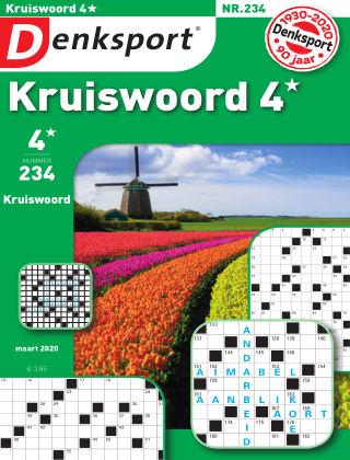 Denksport Kruiswoord 4* 234