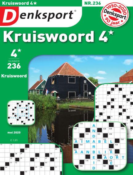 Denksport Kruiswoord 4* May 07, 2020 00:00