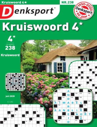 Denksport Kruiswoord 4* 238