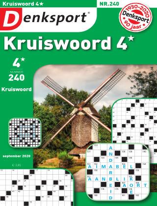 Denksport Kruiswoord 4* 240