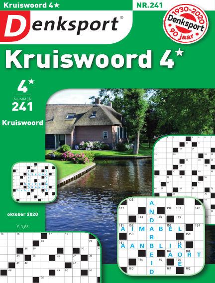 Denksport Kruiswoord 4* September 24, 2020 00:00
