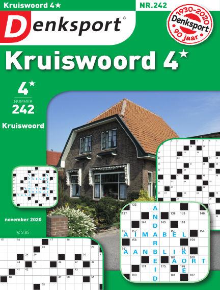 Denksport Kruiswoord 4* October 22, 2020 00:00