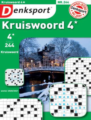 Denksport Kruiswoord 4* 244