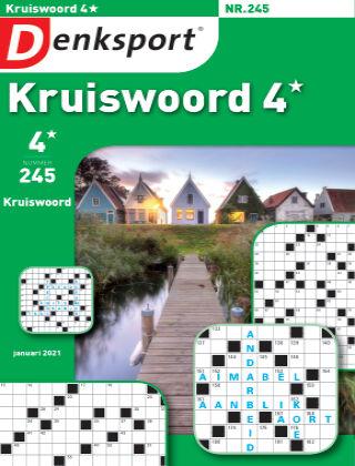 Denksport Kruiswoord 4* 245
