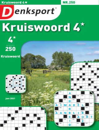 Denksport Kruiswoord 4* 250