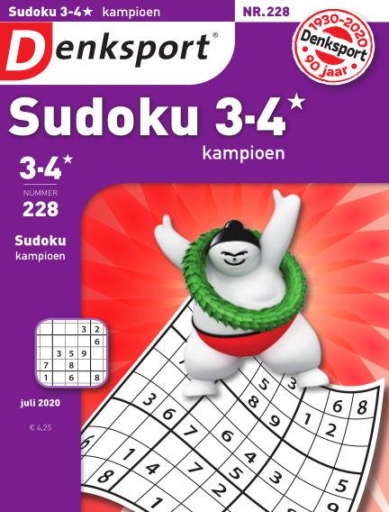 Denksport Sudoku 3-4* kampioen