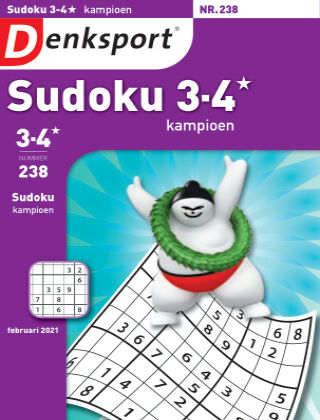Denksport Sudoku 3-4* kampioen 238