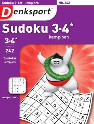 Denksport Sudoku 3-4* kampioen 242