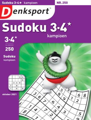 Denksport Sudoku 3-4* kampioen 250