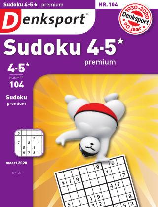 Denksport Sudoku 4-5* premium 104