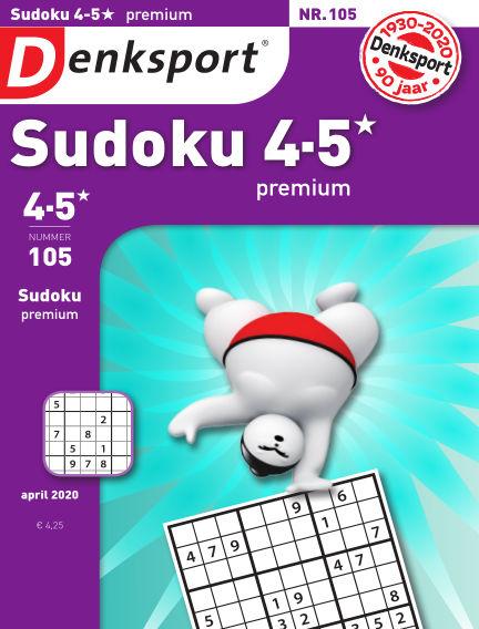 Denksport Sudoku 4-5* premium March 19, 2020 00:00