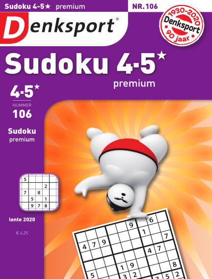 Denksport Sudoku 4-5* premium April 16, 2020 00:00