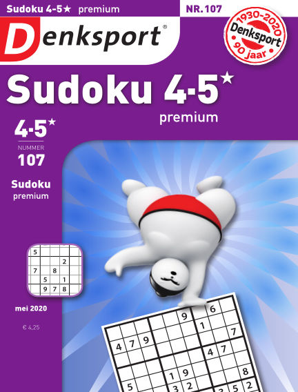 Denksport Sudoku 4-5* premium May 14, 2020 00:00