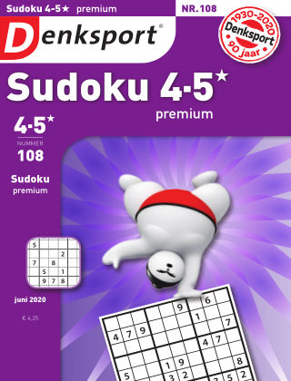 Denksport Sudoku 4-5* premium 108