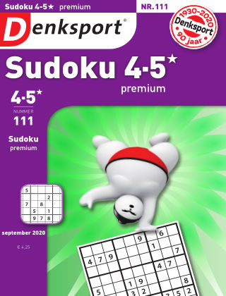 Denksport Sudoku 4-5* premium 111