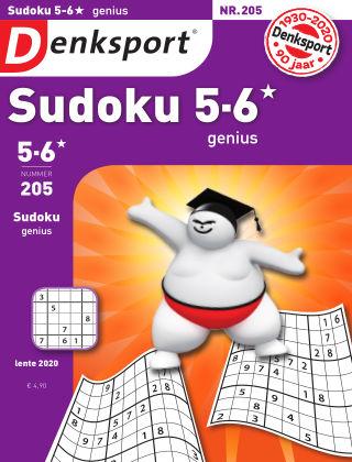 Denksport Sudoku 5-6*  genius 205