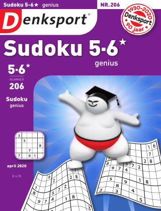 Denksport Sudoku 5-6*  genius 206