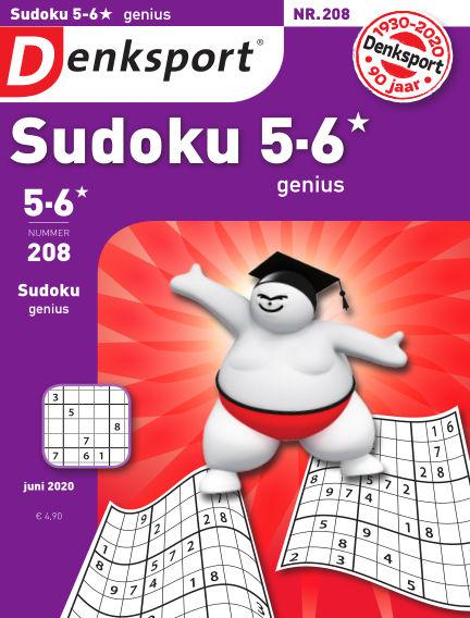 Denksport Sudoku 5-6*  genius May 21, 2020 00:00