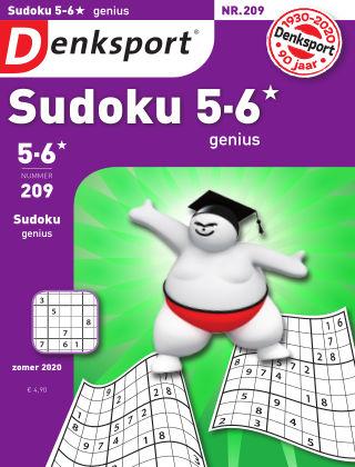 Denksport Sudoku 5-6*  genius 209