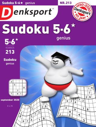 Denksport Sudoku 5-6*  genius 213