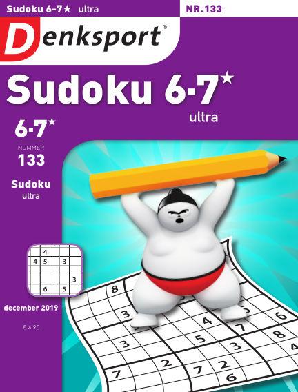Denksport Sudoku 6-7*  ultra December 17, 2019 00:00