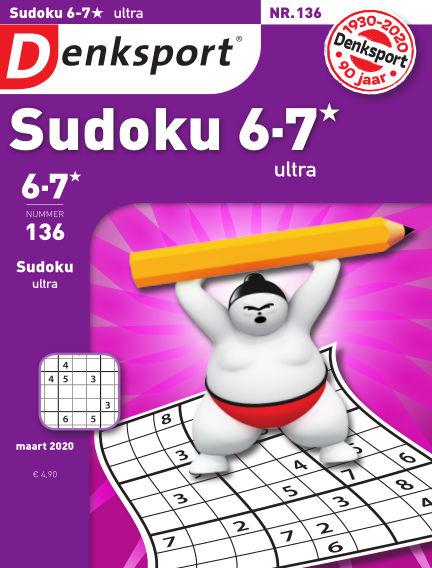 Denksport Sudoku 6-7*  ultra February 27, 2020 00:00