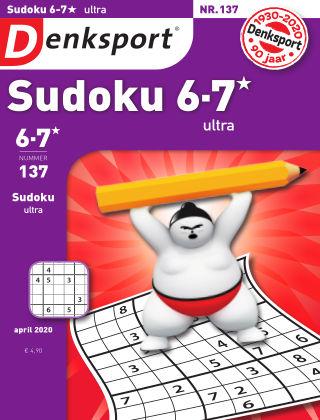 Denksport Sudoku 6-7*  ultra 137
