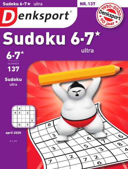Denksport Sudoku 6-7*  ultra March 26, 2020 00:00