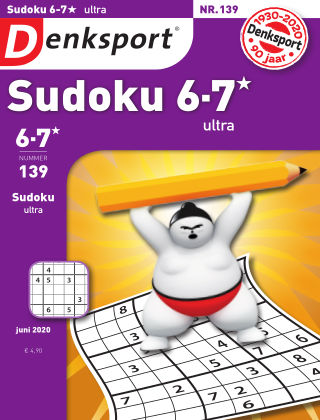 Denksport Sudoku 6-7*  ultra 139